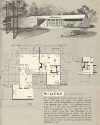 Mid Century Modern Ranch House Plans 751 Best Mid Century Homes Images On Pinterest Vintage Houses
