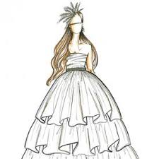 fashion designers sketch kate middleton u0027s wedding dress instyle com
