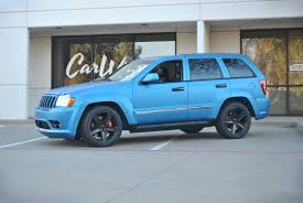 matte green jeep matte blue metallic jeep grand cherokee color change wrap car