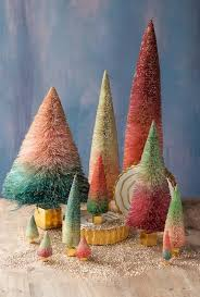 two tone ombre sisal trees glitterville shop
