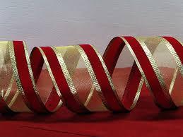 burgundy wired ribbon wired velvet christmas ribbon 2 5 or burgundy velvet and