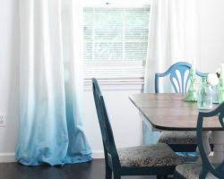 Purple Ombre Curtains Remodelaholic Diy Lace Privacy Window Covering