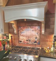 Ceramic Tile Murals For Kitchen Backsplash Backsplash View Kitchen Backsplash Tile Murals Cool Home Design