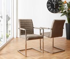 Esszimmerstuhl Freischwinger Holz Esszimmerstühle Im Vintage Retro Stil Ebay
