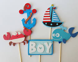 sailor baby shower decorations sailor baby shower etsy