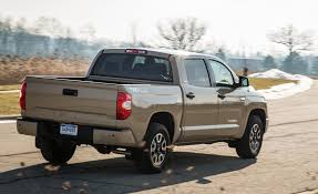 toyota cars and trucks 2018 toyota tundra in depth model review car and driver