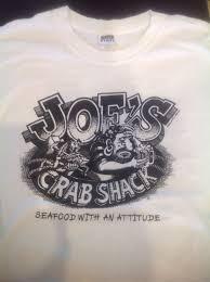 joe s crab shack t shirts joe s crab shack t shirt joe knows redondo vintage large l