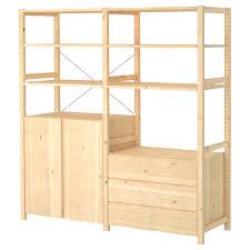 ivar ikea ivar 2 sections shelves cabinet chest pine 174x50x179 cm ikea