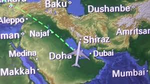 Doha Qatar Map Qatar Airways Dreamliner 787 Doha To Birmingham Taxi Take Off And