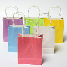 wedding gift bag colorful kraft paper gift bag wedding party handle paper gift bags