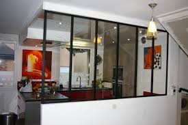 verriere separation cuisine verriere entre cuisine et salon collection avec daco separation
