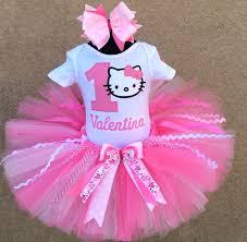 1st birthday tutu pretty in pink hello personalized 1st birthday tutu
