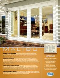 Design Your Own Home Inside And Out Malibu Luxury Sliding Patio U0026 Swinging French Doors Pacific