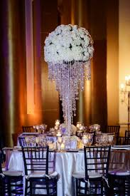 chandelier centerpieces fashionable florida wedding domino photography and centerpieces