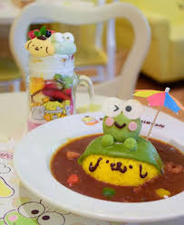 pom pom cuisine keroppi x pom pom purin café harajuku kawaii