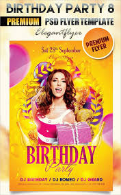 22 birthday flyers psd vector eps jpg download free creatives