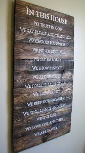 Family House Rules Best 25 House Rules Sign Ideas On Pinterest Family Rules Sign