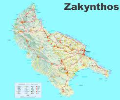 Corinth Greece Map by Zakynthos Maps Greece Maps Of Zakynthos Island