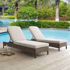 Wicker Patio Lounge Chairs Chaise Lounges Black Resin Wicker Patio Lounge Chairs Rattan