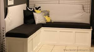 Breakfast Nook Bench Diy Manificent Creative Kitchen Corner Bench Seating With Storage