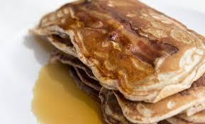 recette pancakes hervé cuisine pancakes à la farine complète et au bacon