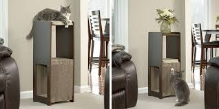 Modern Design Cat Furniture by Sauder Scores Big Hit With New Modern Cat Furniture Line U2022 Hauspanther