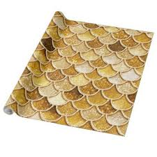 gold glitter wrapping paper shiny gold glitter mermaid scales wrapping paper gold glitter and