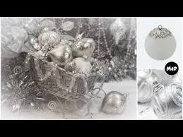 silver christmas silver christmas ornaments