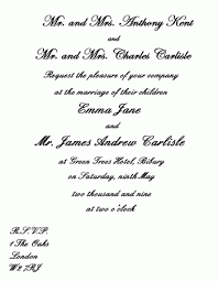 unique wedding invitation wording sles creative wedding invitation wording sles popular wedding