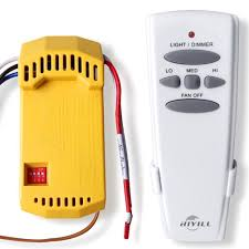 universal ceiling fan remote control kit amazon com hiyill universal ceiling fan wireless remote control kit