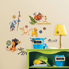Best Wall Decals For Nursery by Decoration Lion King Wall Decals Home Decor Ideas