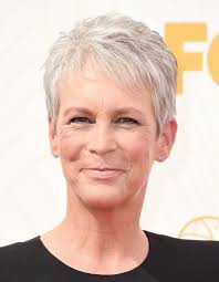 how to get the jamie lee curtis haircut jamie lee curtis emmys red carpet pictures 2015 popsugar celebrity