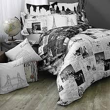 One Direction Comforter Set Passport London And Paris Reversible Comforter Set Bed Bath U0026 Beyond