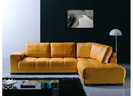Gold Sectional Sofa Loren Modern Gold Leather Sectional Sofa Furniture Interior