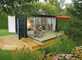 Beautiful Garden House Designs Adding Leaisure Of Studio To Living - Garden home designs