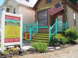 Tiny Home Rental Quotmountain Village Tiny Housequot Visit Maine
