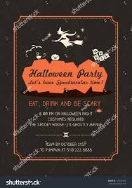halloween party invitation template virtren com