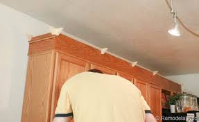 how to install crown molding on kitchen cabinets how to install crown molding on kitchen cabinets how to install