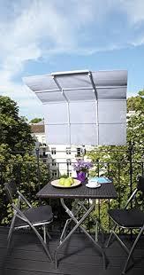 sonnenschutz balkon ohne bohren sonnensegel balkon verschattung klemm markise beschattung