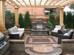 Block Patio Designs Patio Designs With Pavers Landscape Rustic With Bench Door Brick