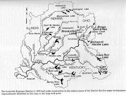 Ohio Rivers Map by History Of Rough River Kentucky