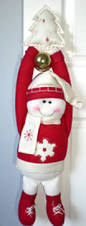 Home Made Christmas Decoration by Homemade Christmas Door Hanger Decoration Ideas Family Holiday