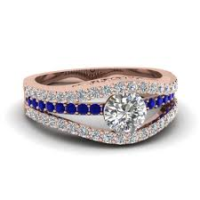 blue diamond wedding rings shop diamond engagement rings fascinating diamonds new york
