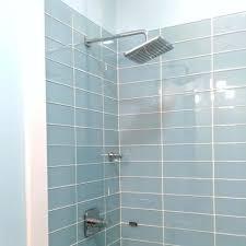 light blue tile backsplash bathroom blue and white tile bathroom