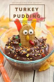 thanksgiving turkey pudding desert chica