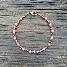 pink glass bead bracelet images Bead stringing 101 beaded bracelet making kit turquoise colored jpg