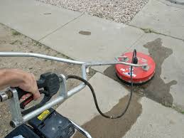 How To Clean Patio Flags How To Clean Brick And Concrete With A Pressure Washer Diy