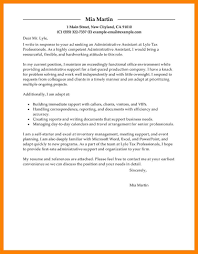 cover letters administration administrative assistant advice the