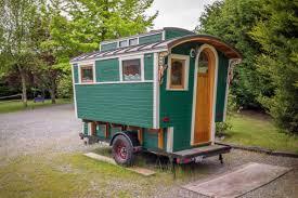 micro tiny house man u0027s handmade gypsy wagon micro cabin