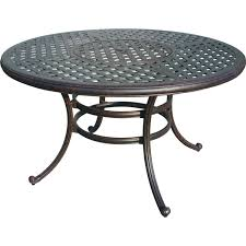 cast aluminum dining table nassau cast aluminum 52 ice dining table antique bronze